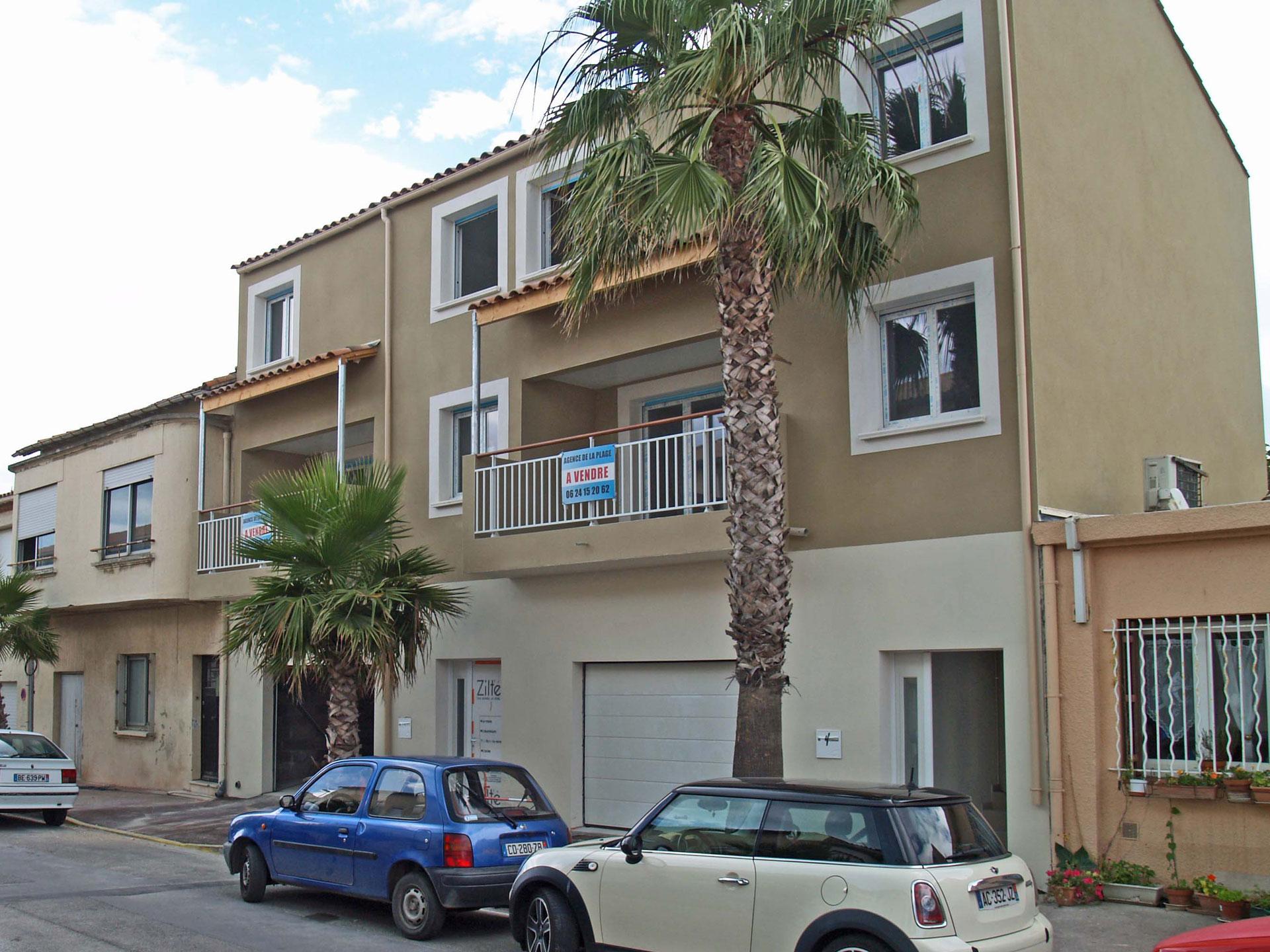 Maison de ville rue Montpellieret<br>à Palavas