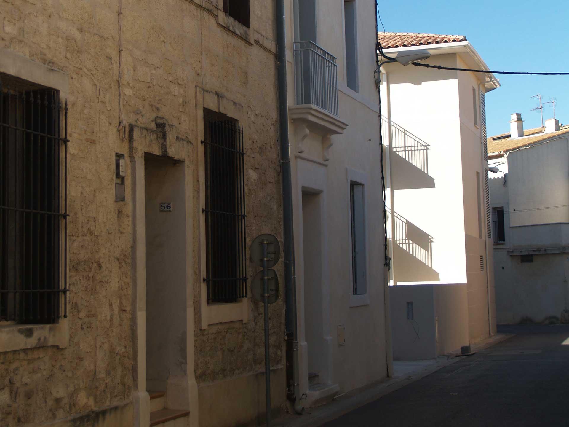 Rue Bouscarain à Lansargues